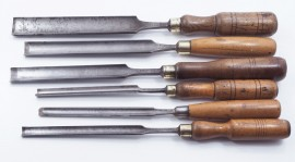 6 GOOD SORBY LONG PARING GOUGES