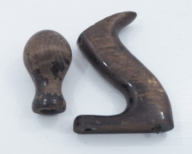 PAIR OF STANLEY BENCH PLANE HANDLES