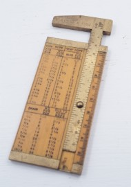 SUPERB SMALLWOOD ROPE GAUGE